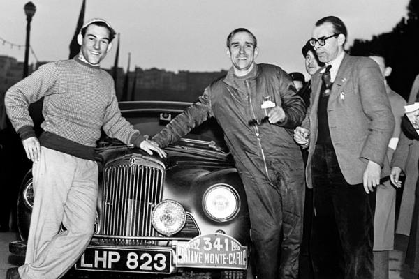 Moss, Scannell & Cooper Monte Carlo Rally